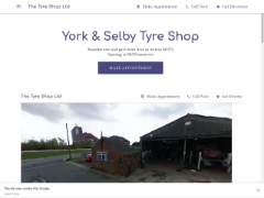 The-tyre-shop-selby-york.business.site приблизительно стоит $1,445,965.00