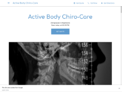 Activebodychirocare.business.site приблизительно стоит $1,468,233.50