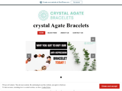 Crystalagatebracelets.fashion.blog приблизительно стоит $8,956.00