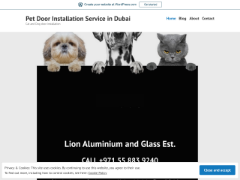 Petdoorinstallationdubai.wordpress.com приблизительно стоит $45,157,911.00